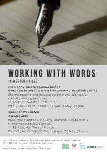 Open Book Shared Reading Group @ Health Agency, Green Reception, Wester Hailes Healthy Living Centre